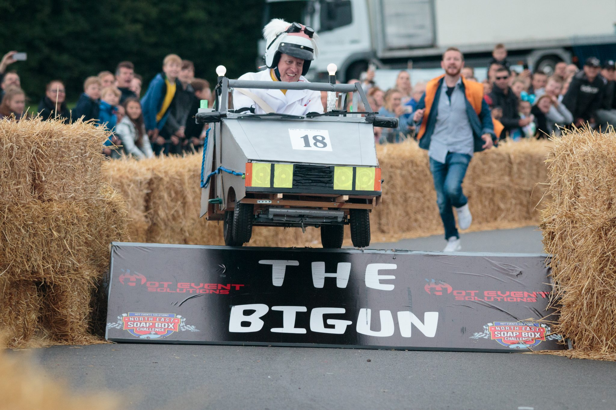 Thousands attend Sunderland's first Soap Box Challenge event
